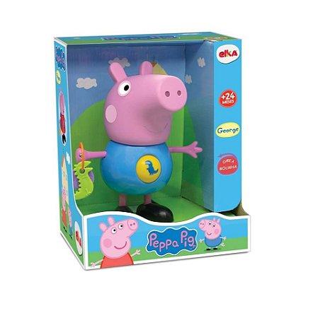 Boneco George com Atividades - Peppa Pig