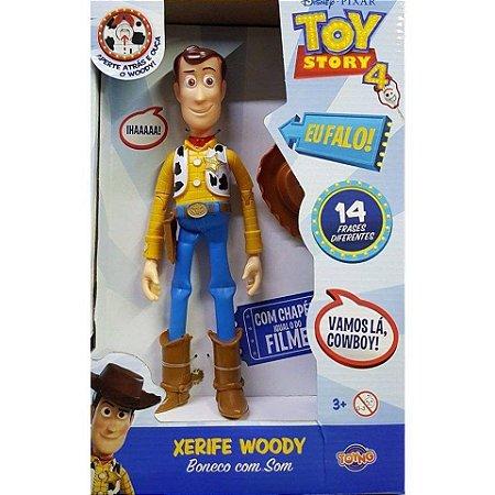 Boneco Xerife Woody com som Toyng