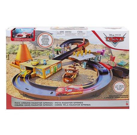 Pista Radiator Springs Mcqueen Carros Mattel