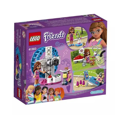 Lego Friends O Playground do Hamster da Olivia 41383
