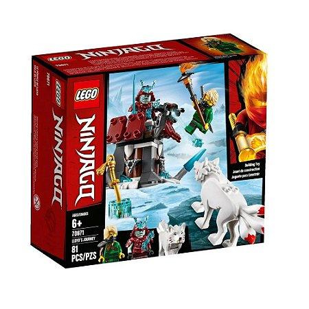 Lego Ninjago A Viagem de LLoyd - 70671