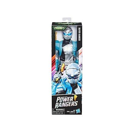 Boneco Power Rangers Prata - E6203