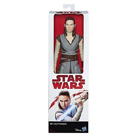 Boneco Star Wars Rey Hasbro-C1430