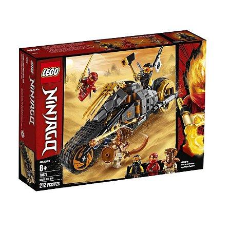 Lego Ninjago a Moto off-road do Cole-70672