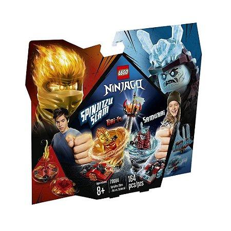 Lego Ninjago Spinjitzu Slam - Kai vs. Samurai 70684