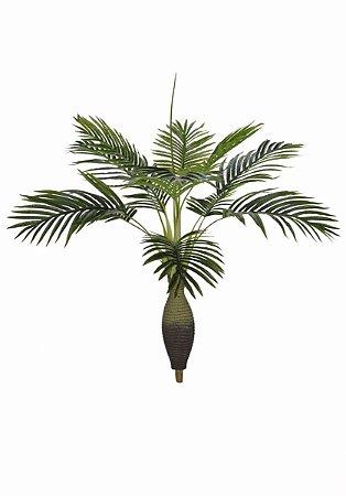 Planta Artificial - Palmeira Garrafa Real Toque 80 Cm
