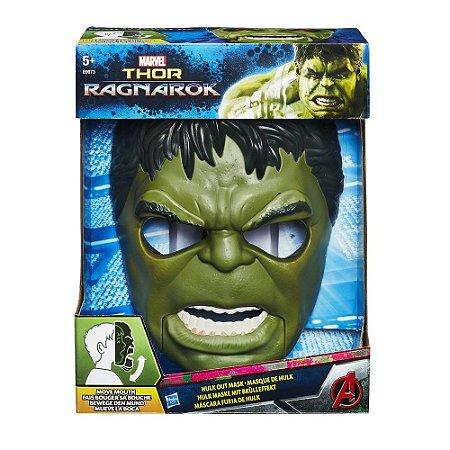 Máscara Hulk Avengers Hasbro - B9973