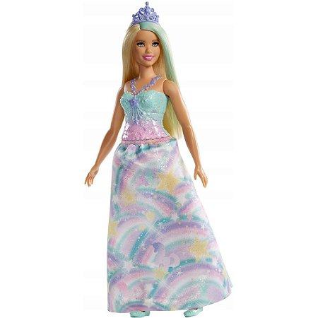 Barbie Dreamtopia  Princesa Loira  Mattel -  FXT14