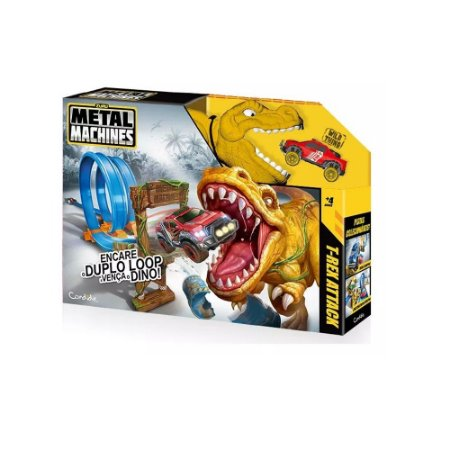 Pista Metal Machines T-Rex Attack Candide - 8702
