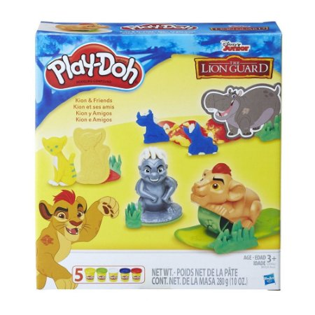 Massinha Play Doh Kion e Amigos - C0392