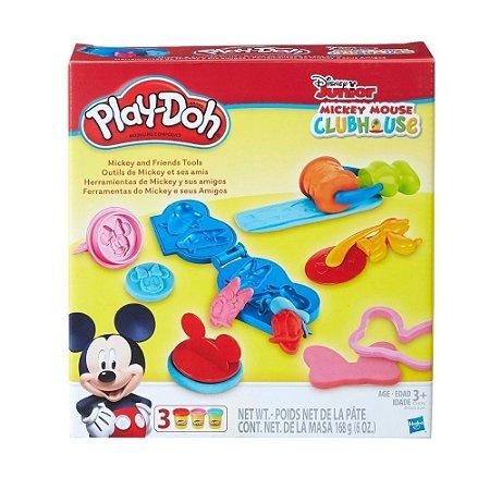 Massinha Play Doh Ferramentas do Mickey - C0393