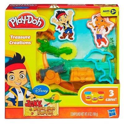Massinha Play Doh Jack e os Piratas Hasbro - A6075