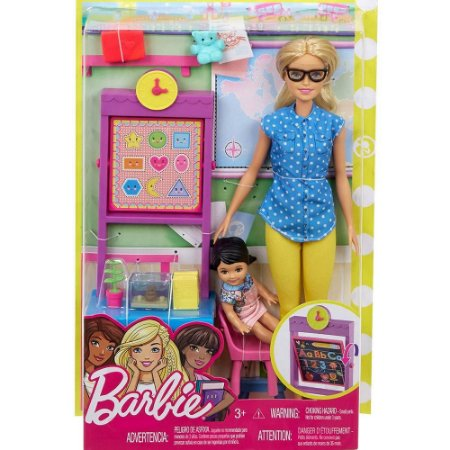 Barbie Professora Mattel -  FJB29