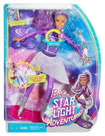 Boneca Barbie Aventuras nas Estrelas Mattel - DLT23