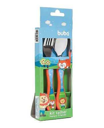 Kit Talher Infantil Happy Friends - Buba