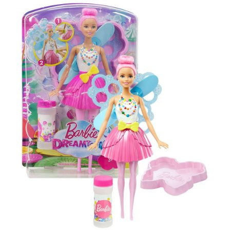 Barbie Fantasia Bolhas Mágicas Mattel
