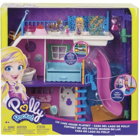 Boneca Polly Pocket Casa do Lago da Polly - GHY65