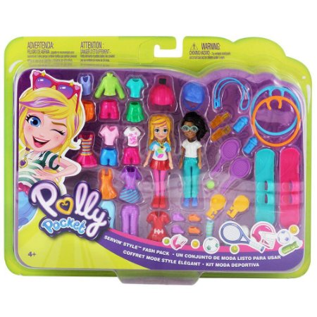 Boneca Polly Pocket Kit Moda Deportiva - GGJ50