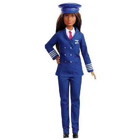 Barbie Profissões Pilota de avião Mattel