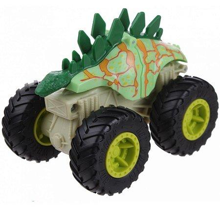 Carrinho Hot  Wheels  Monster Trucks Bash-Ups Motosaurus