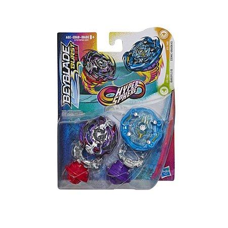 Beyblade Hyper Sphere Gargoyle G5 e Cosmic Kraken K5  Hasbro