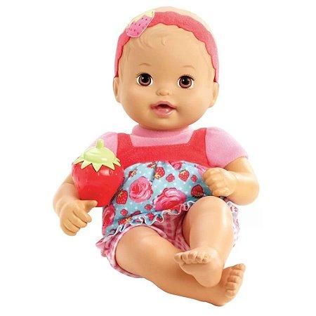 Little Mommy Recém Nascido Moranguinho - Mattel