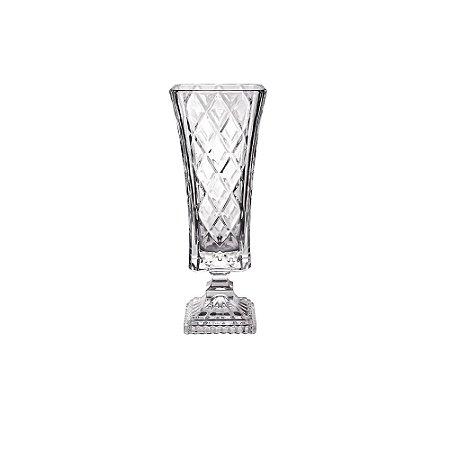Vaso Cristal Ecológico Diamond 33,4 cm Studio