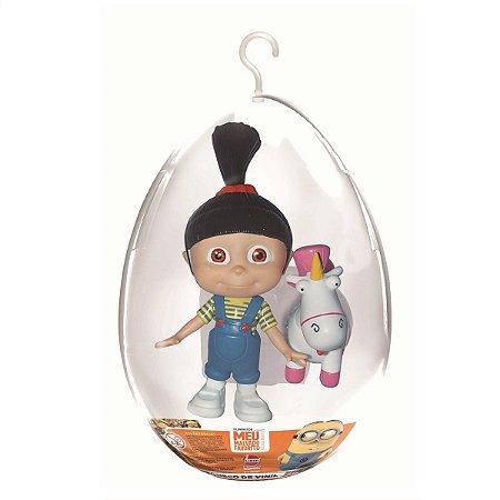 Boneca Agnes e o Unicórnio no Ovo de Páscoa Lider