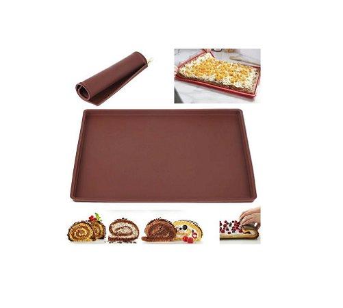 Forma para Rocambole e Biscoitos Silicone Uny
