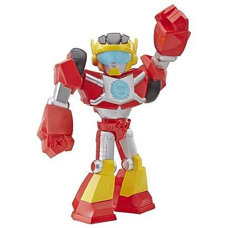 Boneco Transformers Hot Shot 25 cm PLASKOOL - Hasbro