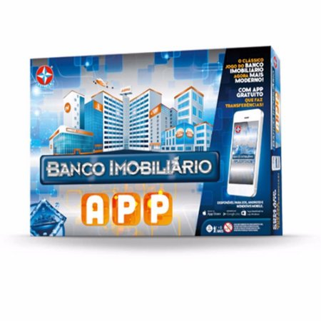 Jogo Banco Imobiliário com APP Estrela