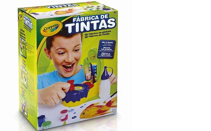 Jogo Fabrica de Tintas - Crayola