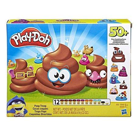 Massinha Play Doh Caquinhas Divertidas Hasbro - E5810