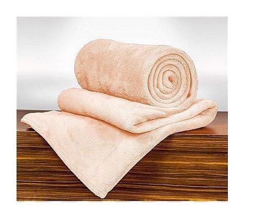 Cobertor Manta Blanket Queen 300g Rosa Mist - Kacyumara