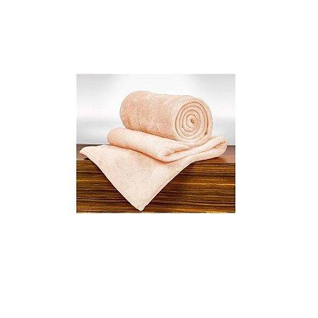 Cobertor Manta Blanket Casal 300g Rosa Mist - Kacyumara