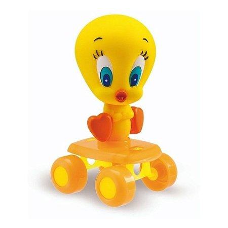Boneco Baby Piu-Piu com Rodas Anjo Brinquedo