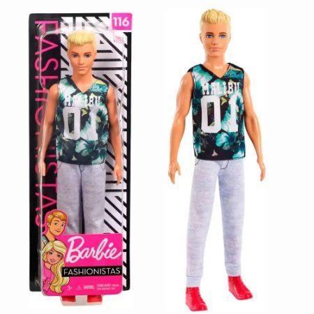 Ken Fashionistas Game Sunday 116 Mattel