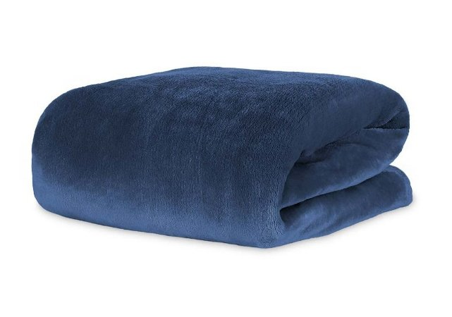 Cobertor Manta Blanket King 300g Azul Sky - Kacyumara