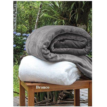 Cobertor Manta Blanket Queen 300g Branca - Kacyumara