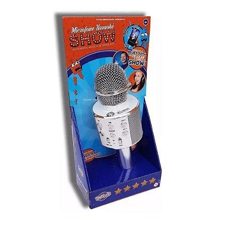 Microfone Karaokê Show Prata Toyng
