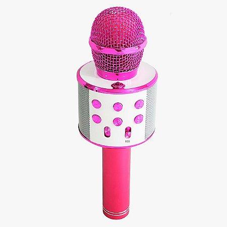 Microfone Karaokê Show Pink