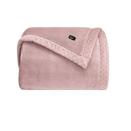 Cobertor Manta Blanket 700 Casal Rosê - Kacyumara