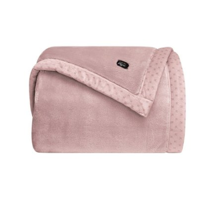 Cobertor Manta Blanket 700 Queen Rosê - Kacyumara