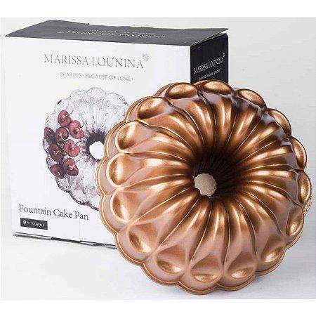 Forma Para Bolo Confeitaria Fountain Marissa Lounina