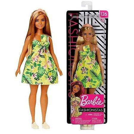 Boneca Barbie Fashionista 126 Mattel