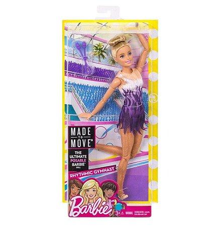 Barbie Esportista Ginastica Rítmica  Mattel - FJB18
