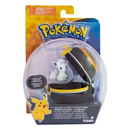 Pokémon Alolan Vulpix e Luxury Ball Tomy