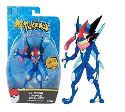 Boneco Pokemon Ash Greninja Tomy Articulado