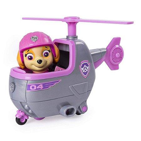 Patrulha Canina Skye Mini Helicóptero Ultimate Rescue