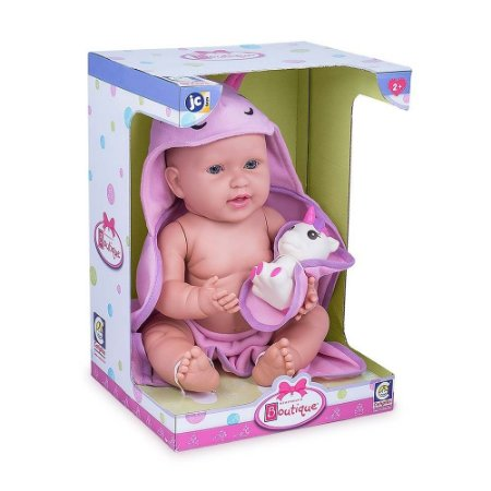 Boneca Infantil Boutique Unicórnio Com Acessórios Cotiplás
